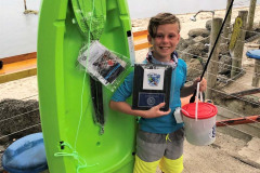 Junior Angler Owen Zierer,