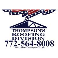 Thompsons Roofing - 18x24 Yard Sign