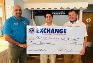 Donation to Step Up America