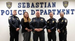 Sebastian Police Department Congratulations, Excelsior Status