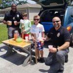 Sebastian Police Department Lemonade stand by children