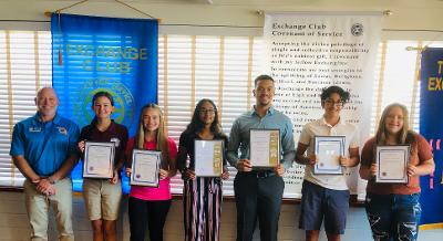 Students of the month from Sebastian Florida